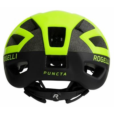 Čelada Rogelli PUNCTA, odsevno črno rumena ROG351056, Rogelli