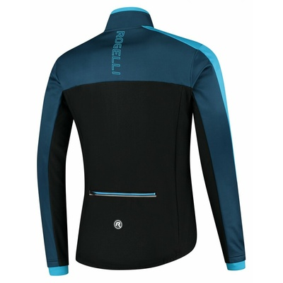 Moški zimska jakna Rogelli Freez vz črna in modra ROG351021, Rogelli