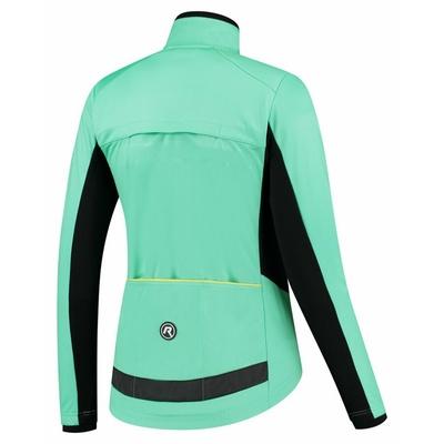 Zimska ženska jakna Rogelli Pregrada turkizna ROG351090, Rogelli