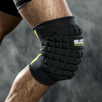 Zaščitniki na vaš kolena Select Podpora za kolena w/big blazinica 6205 Črna, Select