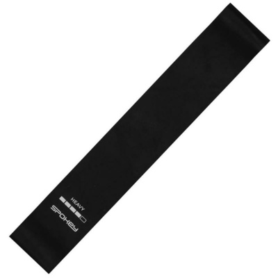 Spokey ARTIO II fitnes guma Črna, težko, Spokey
