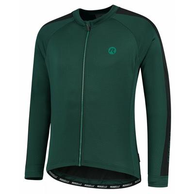 Kolesarjenje za moške majica brez izolacijo Rogelli Raziščite zeleno-črna ROG351003, Rogelli