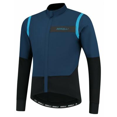 Moški ultralahka kolesarska jakna Rogelli Neskončno brez izolacijo modro-črna ROG351049, Rogelli