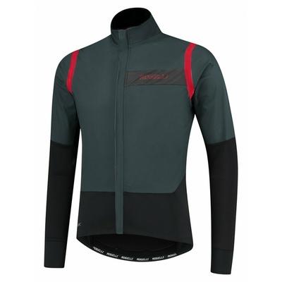 Moški ultralahka kolesarska jakna Rogelli Neskončno brez izolacijo sivo-črno-rdeča ROG351050, Rogelli