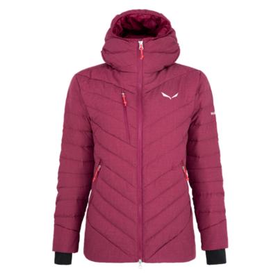 Zimska ženska jakna Salewa Raiser Medium Down rhodo rdeča 28048-6360