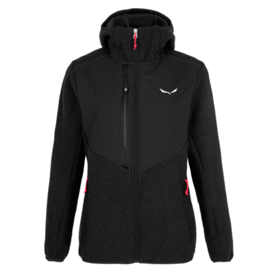 Zimska ženska jakna Salewa Fedaia Alpinewool zatemniti 28050-0910