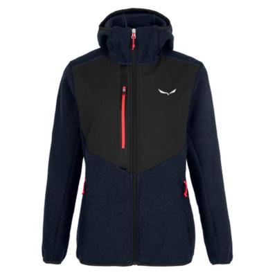 Zimska ženska jakna Salewa Fedaia Alpinewool mornarski blazer 28050-3961