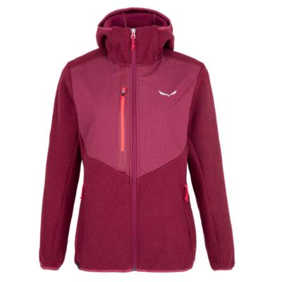 Zimska ženska jakna Salewa Fedaia Alpinewool rhodo rdeča 28050-6361