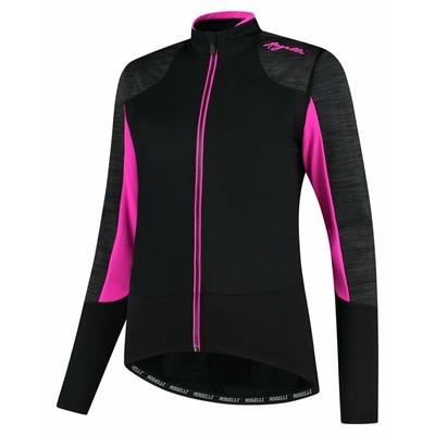 Zimska ženska jakna Rogelli Slava črno-sivo-roza ROG351078, Rogelli