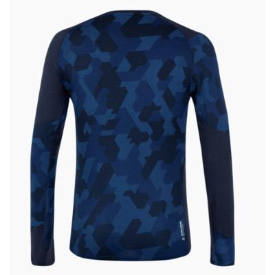 Moška termo majica Salewa Crystal toplo merino odziven mornarski blazer 28205-3960, Salewa