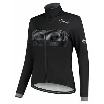Zimska ženska jakna Rogelli Namen črna in bela ROG351083, Rogelli