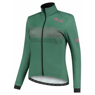 Zimska ženska jakna Rogelli Namen kaki-koral ROG351084, Rogelli