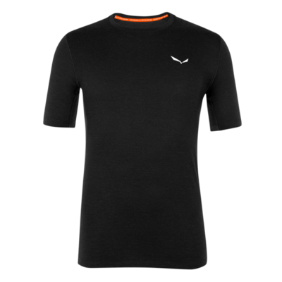 Moška termo oblačila majica Salewa Kristalno topel merino odziven zatemniti 28207-0910, Salewa