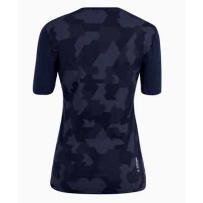Ženska termo majica Salewa Kristalno topel merino odziven mornarski blazer 28208-3960, Salewa