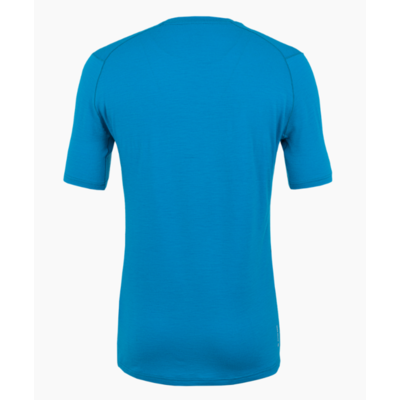 Moška majica Salewa Čisto logo merino odziven cloisonne modra 28264-8660, Salewa