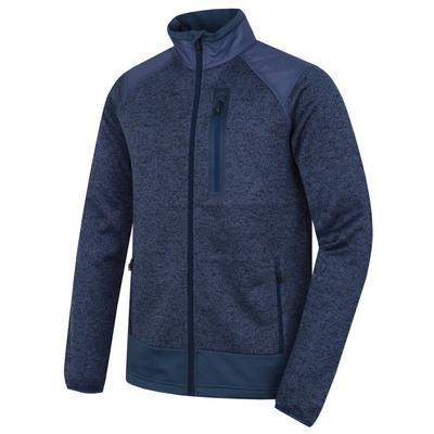 Moški zip flis pulover Husky Alan M temno modra / temna. modra, Husky