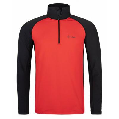 Moški funkcionalni dolga majica rokav Kilpi WILLIE-M rdeča, Kilpi