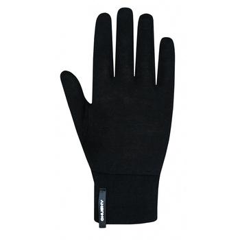 Unisex merino rokavice Husky Merglov Črna, Husky