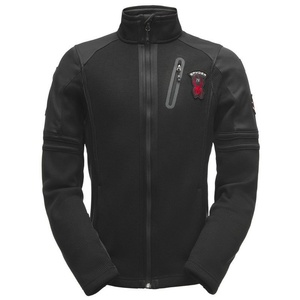 pulover Spyder men ` Wengen Polna zip Mid Masa Stryke flis 181372-001, Spyder