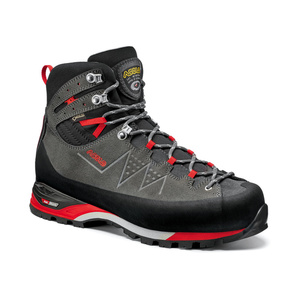 Boty Asolo Traverse GV MM graphite/red/A619