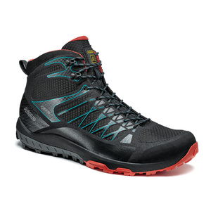 Boty Asolo Mreža Mid GV MM black/red/A392, Asolo