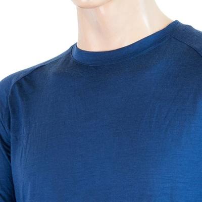moški majica Sensor Merino Air PT temno modra / bordo 20200002, Sensor