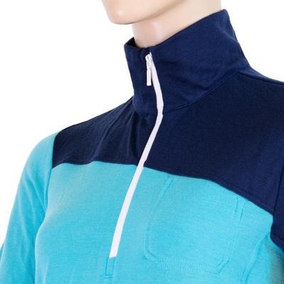 ženske majica Sensor Merino Extreme temno modra / modra, Sensor