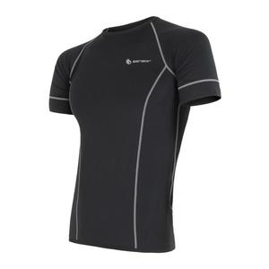 moški majica Sensor Coolmax sveže črna 11101005, Sensor