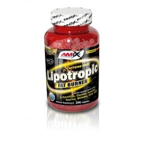 zmanjšanje teža Amix Lipotropic Fat gorilnik 200cps, Amix