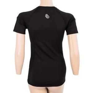 ženske majica Sensor Coolmax TECH kr.rukáv črna 20100021, Sensor