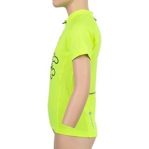Otroški kolesarjenje majica Sensor VSTOP kr.rukáv refleks oranžna Klovn 20100065, Sensor