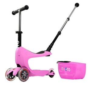 skuter Micro Mini2go Deluxe plus Pink, Micro