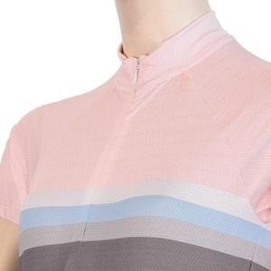 ženski kolesarjenje majica Sensor POLETJE STRIPE siva / roza 20100063, Sensor