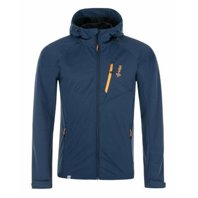 Moška softshell jakna Kilpi CAMPO-M modra, Kilpi