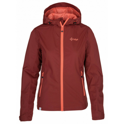 Ženske na prostem jakna Kilpi ORLETI-M temno rdeča, Kilpi