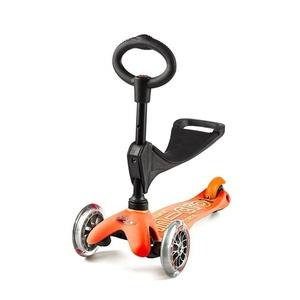skuter mini Micro Deluxe 3v1 Oranžna, Micro