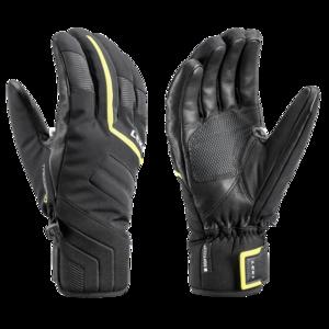 ski rokavice LEKI Falcon 3D črna / apno, Leki