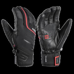 ski rokavice LEKI Falcon 3D črna / rdeča, Leki