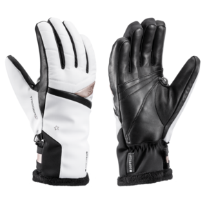 ski rokavice LEKI Snowfox 3D dama belo / zlato, Leki