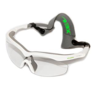 očala EXEL OČALA HURRICANE bela / neon zelena višji, Exel