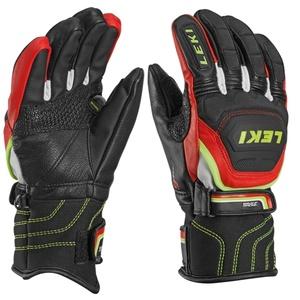 rokavice LEKI Svetovni pokal v smučanju Race Flex S junior črno-rdeče-belo-rumena 634-80031, Leki