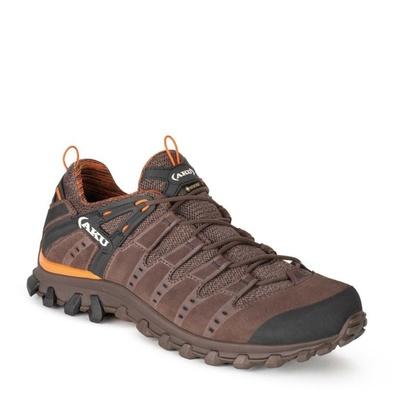 moški čevlji AKU Alterra Lite GTX rjava / oranžna, AKU