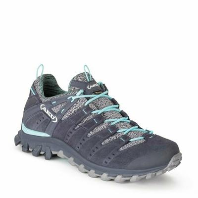 Ženski čevlji AKU Alterra Lite GTX ženski sivi / svetlo modri, AKU