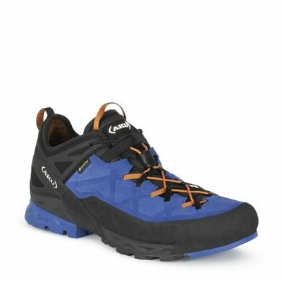 Moški čevlji AKU Rock Dfs GTX modro / oranžni, AKU