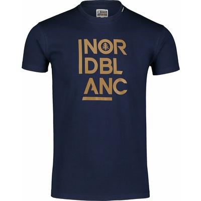 Moška bombažna majica Nordblanc OBDOBNO modra NBSMT7258_TEM, Nordblanc