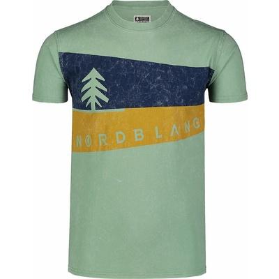 Moška majica Nordblanc Grafični Črna NBSMT7394_CRN, Nordblanc