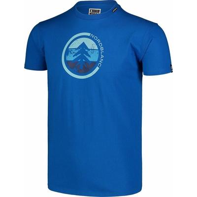 Moška bombažna majica Nordblanc TRICOLOR modra NBSMT7397_INM, Nordblanc
