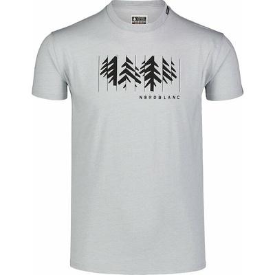 Moška bombažna majica Nordblanc DECONSTRUCTED siva NBSMT7398_SSM, Nordblanc