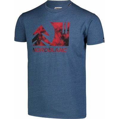 Moška bombažna majica Nordblanc TREETOP modra NBSMT7399_SRM, Nordblanc