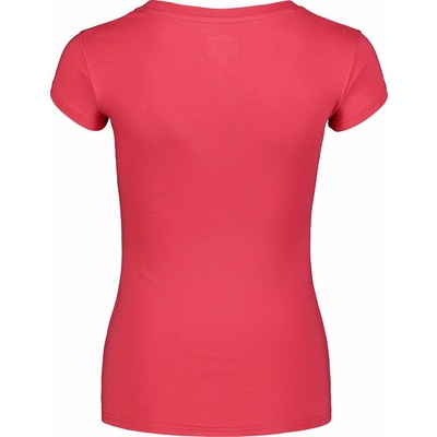 Ženska bombažna majica NORDBLANC Kaligrafija roza NBSLT7400_RUP, Nordblanc